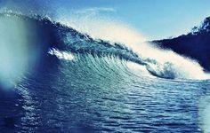 Huge wave...