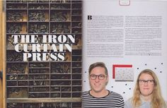 The Iron Curtain Press in Uppercase Magazine #17