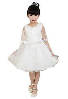 Jeansian Girl Kid Wedding Cute Party Dress Shirt White 100 jeansian http://www.amazon.com/dp/B00P0LN9OS/ref=cm_sw_r_pi_dp_yHGLwb11SMVTS