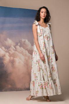 Linen Dress Oversized Loose Dress Women Kaftan Plus Size Kaftan Linen Maxi Dress Linen Caftan Dress Maternity Dress Linen Clothing