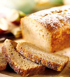 Most quick breads are loaded with nuts--not this one. In this bread recipe, the sweet, fruity flavor of apples is at its best.
