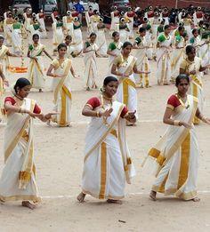 INDIA: Kerala Dance                                                                                                                                                                                 More