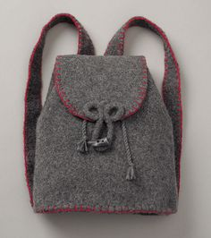 Patons Felted Backpack