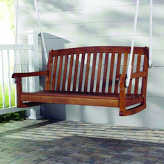 Leading front porch swing pub houston tips for 2019 Porch Swing Home Depot, Porch Swings For Sale, Balcony Swing, Porch Swing Frame, Patio Swing, Swing Canopy Replacement, Country Home Magazine, Cozy Patio, Swing Design