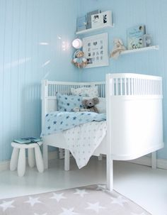 chambre garcon inspiration bleu pastel