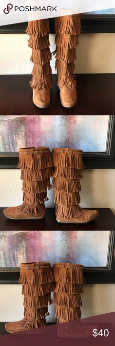 b30f3c62db6 16 Best Fringe moccasin boots images in 2016 | Boots, Boho boots ...