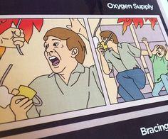 Perform the most sinister prank known to aviation by inserting these helpful Fight Club inspired flight safety pamphlets into your plane's seats.The prints feature exquisite art work any film buff can appreciate while displaying terrifying emergency flight procedures.