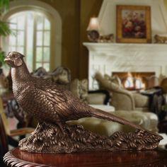 Genesis Ireland Bronze Pheasant Retirement Gifts, Top Gifts, Pheasant, Ireland, Bronze, Common Pheasant, Irish