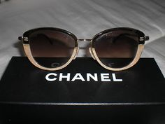 These Chanel sunglasses would be a must for any business woman on the go. The sunlight would stay out of your eyes but would also add to your sophisticated and chic look.