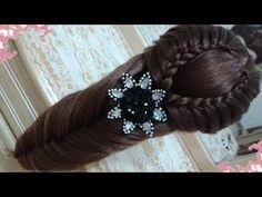 peinados recogidos faciles para cabello largo bonitos y rapidos con trenzas para niña para fiestas55 - YouTube