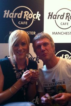 Fellow bee keeper and Happy Monday legend, Bez with his Forever Manchester pin Forever Manchester, He Hive, Community Foundation, Save The Planet, Mondays, How To Raise Money, Happy Monday, Hard Rock, Einstein