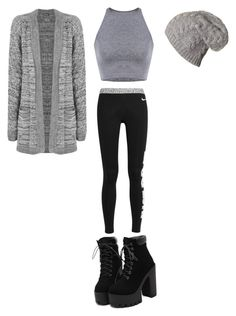 """""""It's warm and comfy outfit"""" by fungiral on Polyvore featuring NIKE and WearAll"""