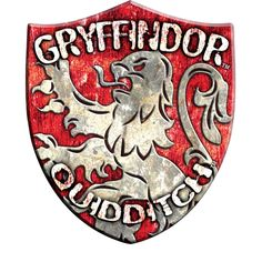 Gryffindor Quidditch Badge ($20) ❤ liked on Polyvore featuring harry potter and gryffindor