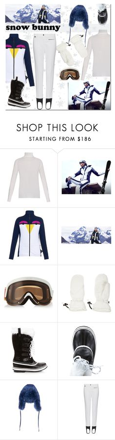 """""""Winter Fun:  Snow Bunny Style"""" by margaretferreira ❤ liked on Polyvore featuring Equipment, Fendi, YNIQ, Christian Lacroix, SOREL, skistyle, winterstyle and snowbunny"""