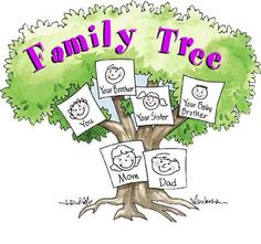 How to fill out a family tree template for children