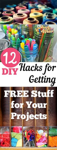 12 DIY Hacks for Getting FREE Stuff for Your Projects