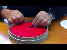 fabriquer un time timer. Ultra simple, un outils precieux en classe