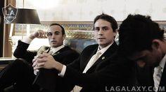 Landon Donovan, Todd Dunivant at The White House. LA Galaxy