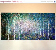 2 day SALE 45 off Large original oil painting by jeanvadalsmith, $213.95