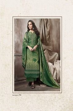 Sudriti Sahiba NeelKamal Pashmina Print with embroidery Suits 745 Embroidery Suits, Cool Things To Buy, Stuff To Buy, Winter Collection, Suits For Women, Shawl, Womens Fashion, Fabric, Prints