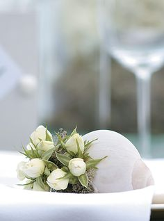 Individual Flower Arrangement for Table Setting