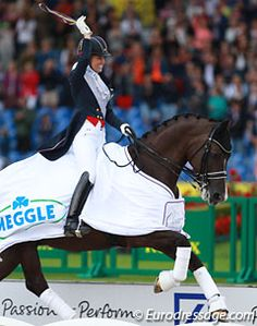 Special gold for Charlotte Dujardin and Valegro