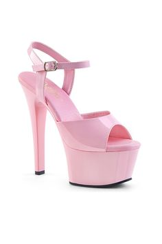 a904d9f1915 Featuring Vegan Leather Insole. 6 inch stiletto high heel and 2.25 inch  platform. Platform