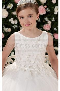 a9ea671d3fc Joan Calabrese by Mon Cheri 114342 Flower Girl Dress