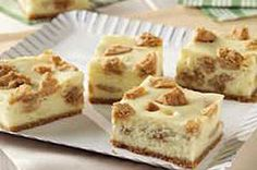 Peanut Butter Cookie Cheesecake Bars recipe