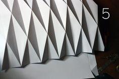 La succión del pulgar: Cómo hacer una linterna de papel origami