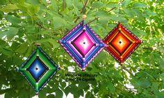 Mandalas Uruguay: Mandala artesanal textil - Ojo de Dios - Realizado...
