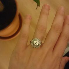 Bague de fiancailles diamants (central 1.30cts) #vendu www.BijouxAnciens.Paris