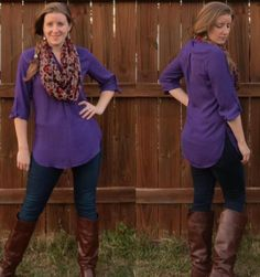 I love this top!  The color, style, everything!  I may be searching for this online!