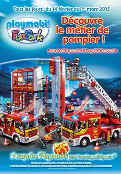 pompiers playmobil funparks