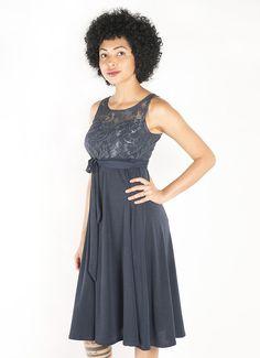 Sleeveless Lace Short Dress