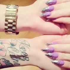 #Mermaid #Birthday Nails