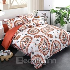 Check out these spectacular multi-colored orange bedding sets and better yet, check out what liking the color orange says about you. 3d Bedding Sets, Cotton Bedding Sets, Bedding Sets Online, Bedding Shop, Baby Bedding, Funky Bedroom, Home Decor Bedroom, Cozy Bedroom, Orange Bedding