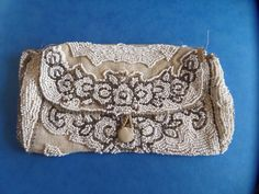 Beautiful Beaded Purse c1920 - Made in France by DelboysDen on Etsy