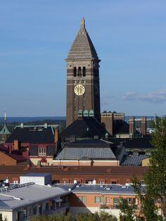Norrkoping - View over roofs