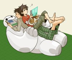 AW AW AW BAYMAX IS SO CHILL OHMYGOSH