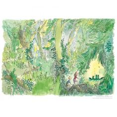 Sir Quentin Blake - The Green Ship - signed limited edition print