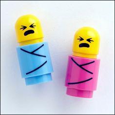 Bebês Lego!