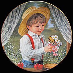 For Mom - May: Childhood Almanac Sandra Kuck Reco Plate (Image1)