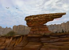 Mount Rushmore, Mountains, Digital, Nature, Painting, Travel, Viajes, Painting Art, Traveling