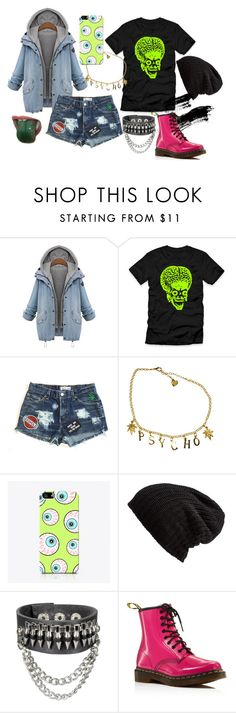 """""""#7"""" by midnightcrew on Polyvore featuring Free People and Dr. Martens"""
