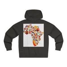Afro Lightweight Pullover Hooded Sweatshirt
