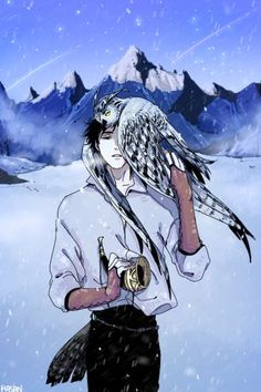 Is the owl supposed to be Bokuto lmao Kuroo Haikyuu, Kuroo Tetsurou, Haikyuu Fanart, Kagehina, Haikyuu Anime, Bokuto Koutarou, Akaashi Keiji, Kuroken, Bokuaka