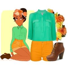 """""""Tiana"""" by monique-grace on Polyvore"""