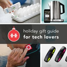 The Essential Holiday Gift Guide for Fitness Tech Lovers Christmas Gift Guide, Holiday Gifts, Christmas Gifts, Holiday Ideas, Christmas Time, Christmas Ideas, Gifts For Tech Lovers, Gift For Lover, Fitness Gadgets
