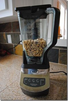 Fresh Peanut Butter Ninja Blender recipe.... must try to recreate my favorite honey roasted pb!